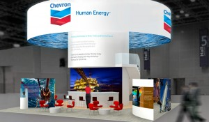B.E.- Chevron Trade Show Booth(IPTC)