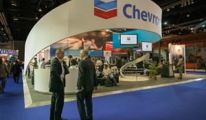 B.E. – Chevron Trade Show Booth