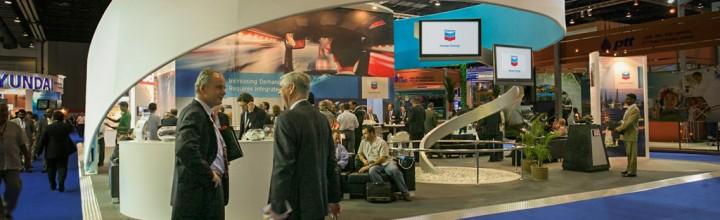 B.E. – Chevron Trade Show Booth